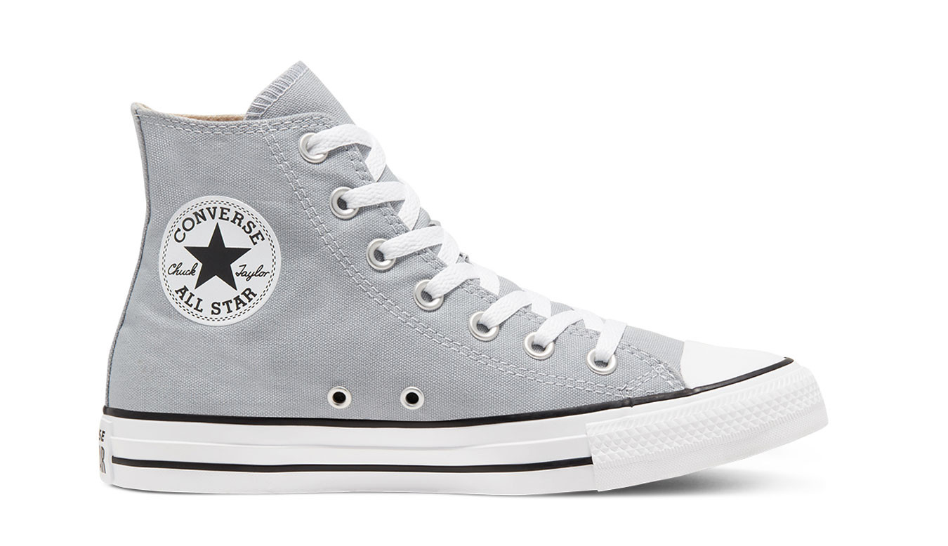 chaussures converse gris