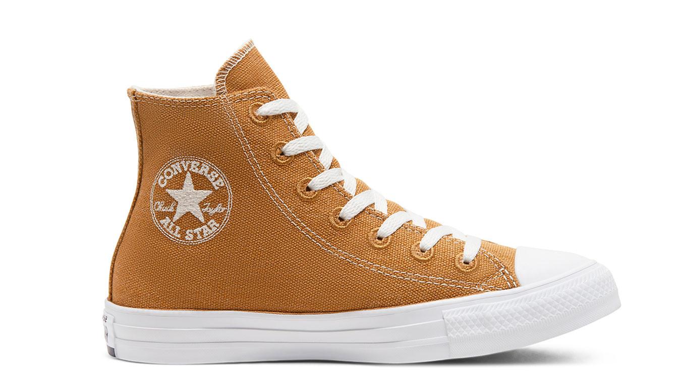 converse marron beige