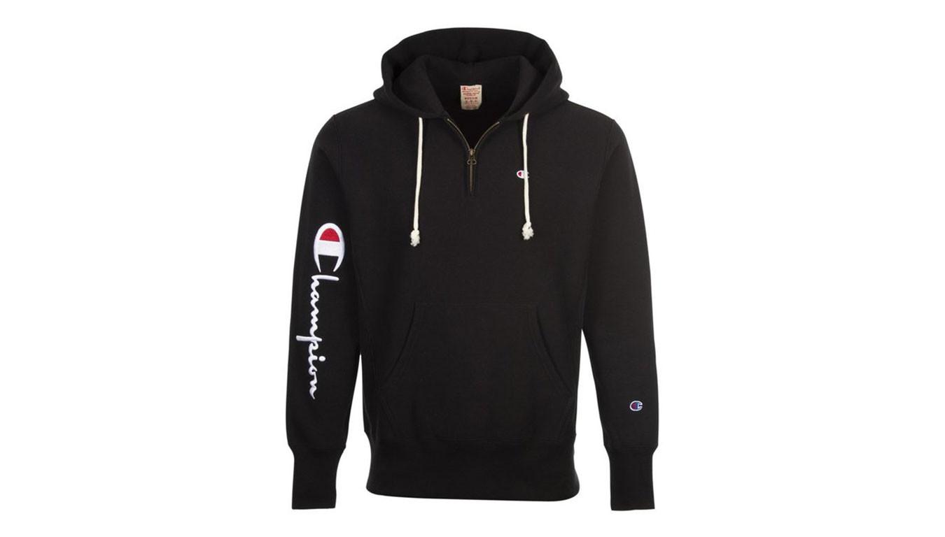 Hooded Hooded Zip Sweatshirt Sweatshirt Half Zip Champion Champion Champion Half Half Zip Hooded nOP8kw0
