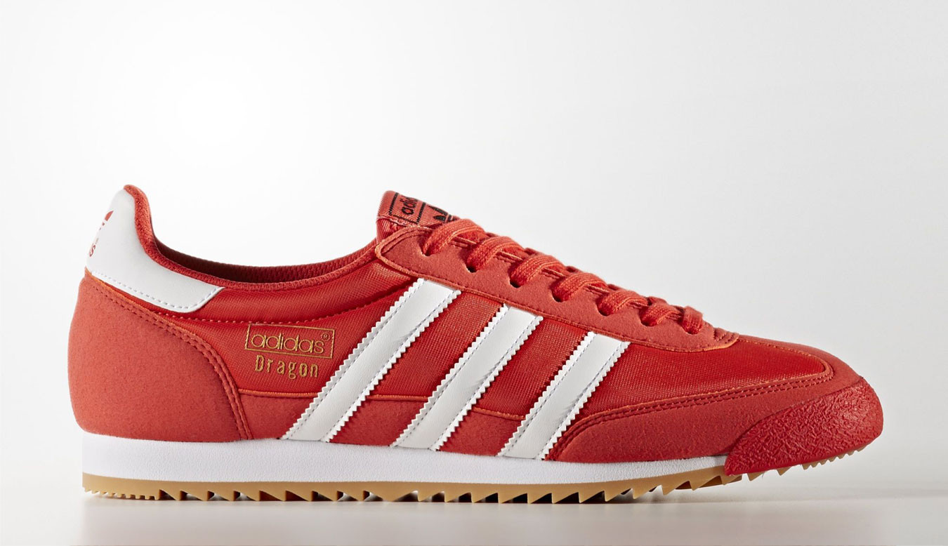 adidas dragon og rouge