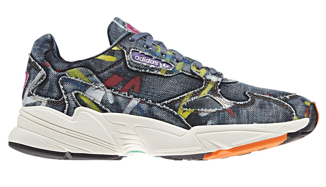 Denim Falcon Dark Bleu Blue Sneakers Adidas 72Cg6249 Shooos HDWE29IY
