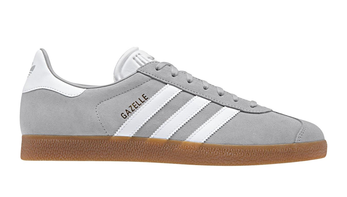 Grey sneakers adidas Hamburg 60$ | BB5109 | Shooos
