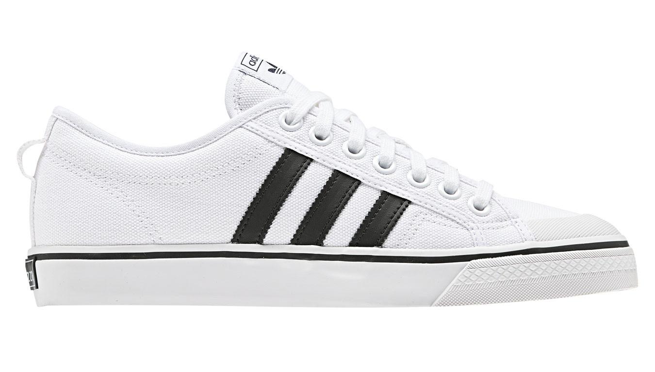White sneakers adidas Nizza 50$ | BD7547 | Shooos