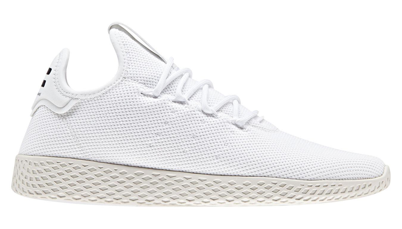 Blanc sneakers adidas x Pharrell Williams Tennis HU 50