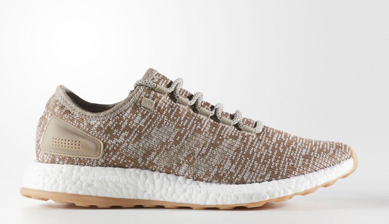 adidas pureboost chaussures kaki