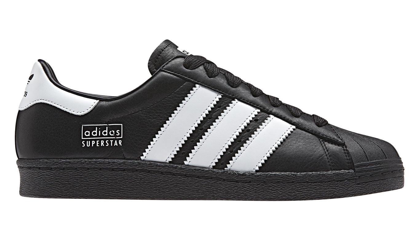 80 Superstar 80s Sneakers Noir Adidas bg67Yfy