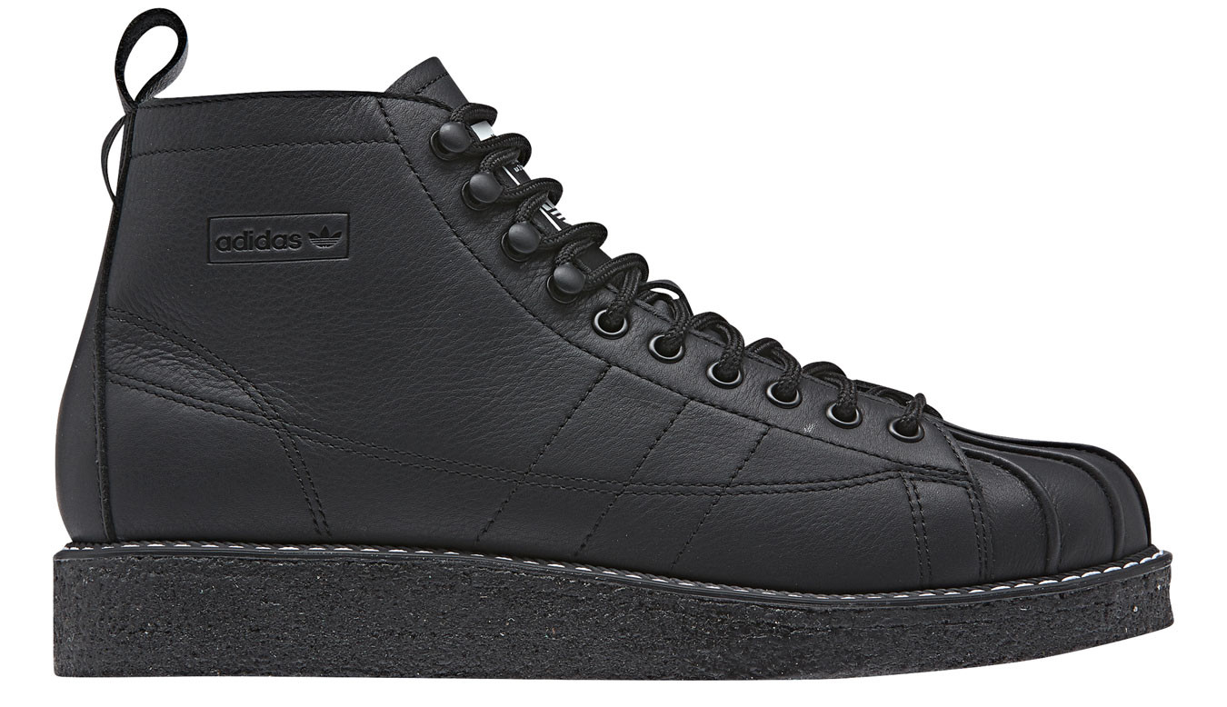 adidas Superstar Boot Luxe Black