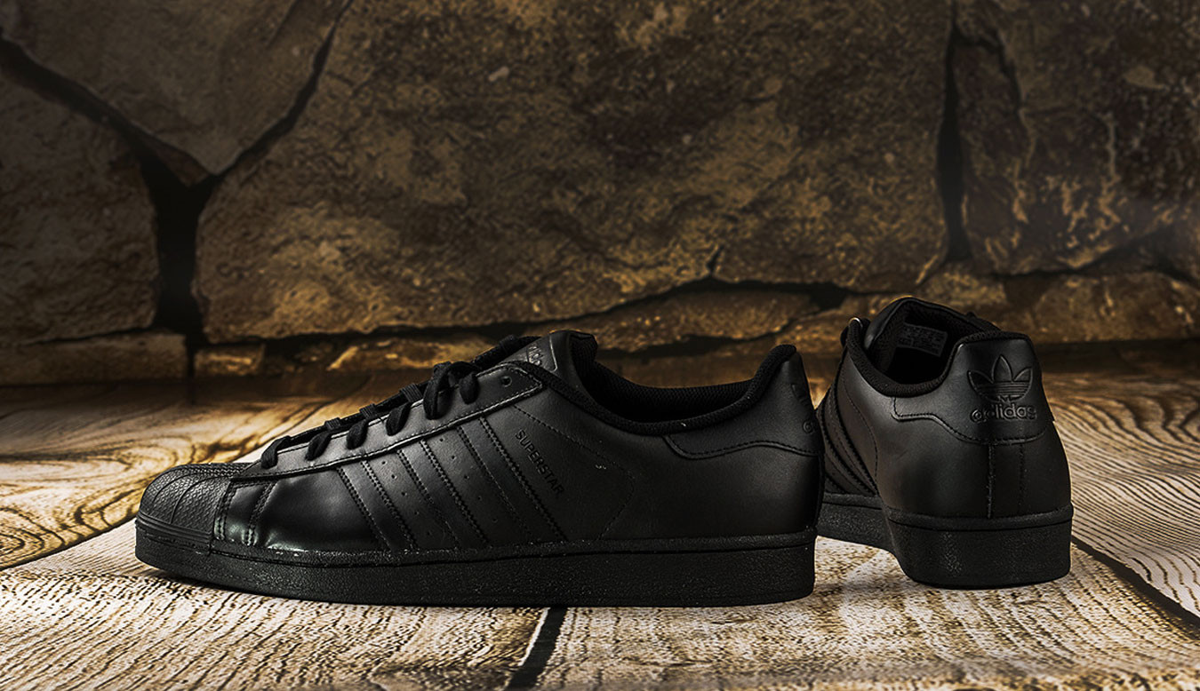 adidas Superstar Foundation Black