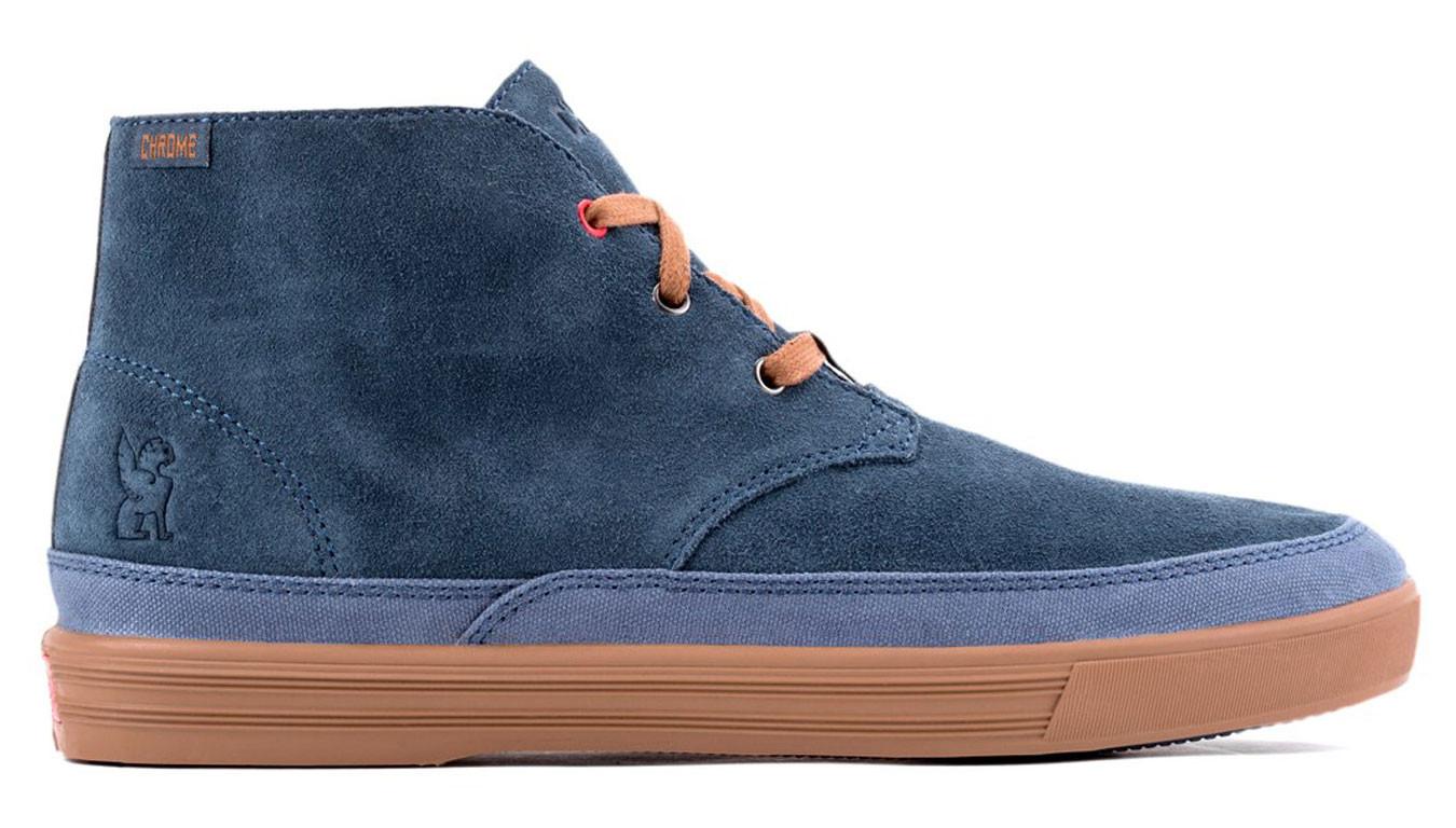 71ea7bc28 Bleu sneakers Chrome Industries Forged Suede Chukka Boot Indigo ...