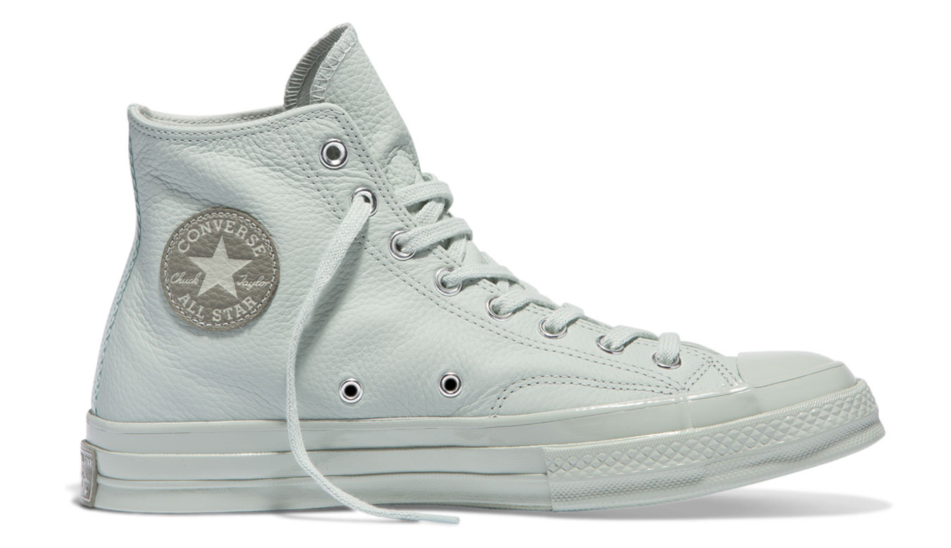 Converse chuck taylor all star leather pastels baskets