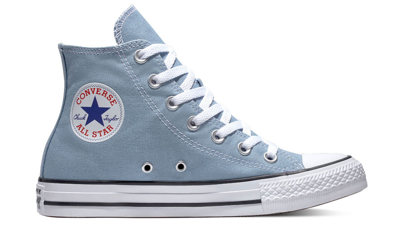 Converse Chuck Taylor All Star Classic High Top Washed Denim