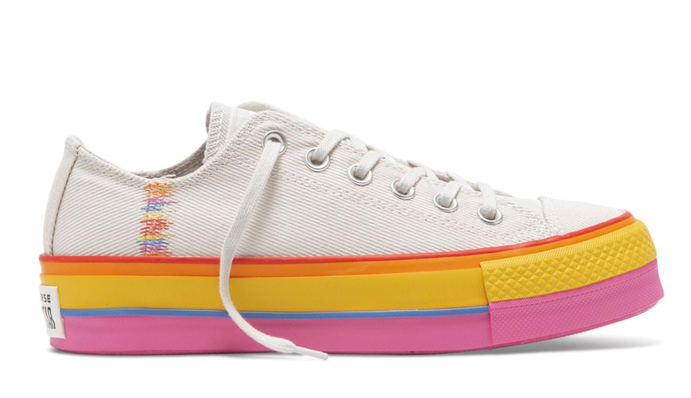 Converse Chuck Taylor All Star Lift Basket Femme Multicolore