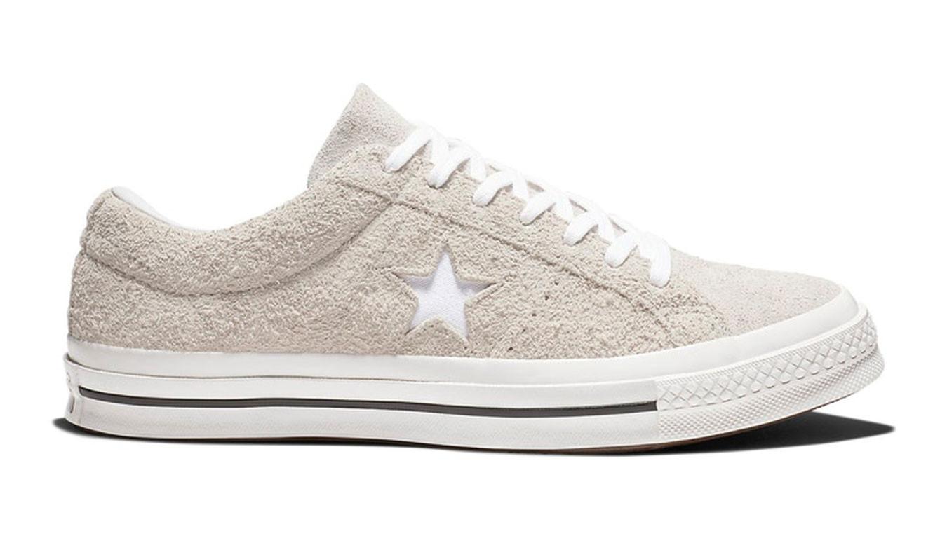 converse one star cuir blanc