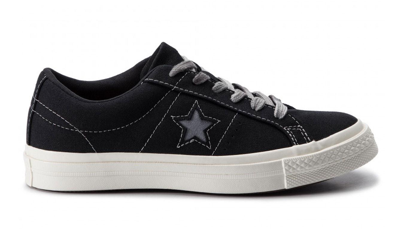 converse one star ox noir femme