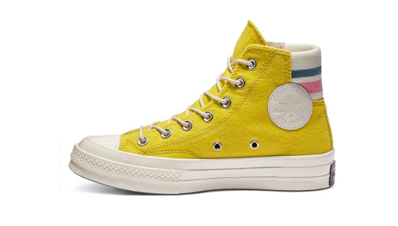 converse all star chuck taylor jaune