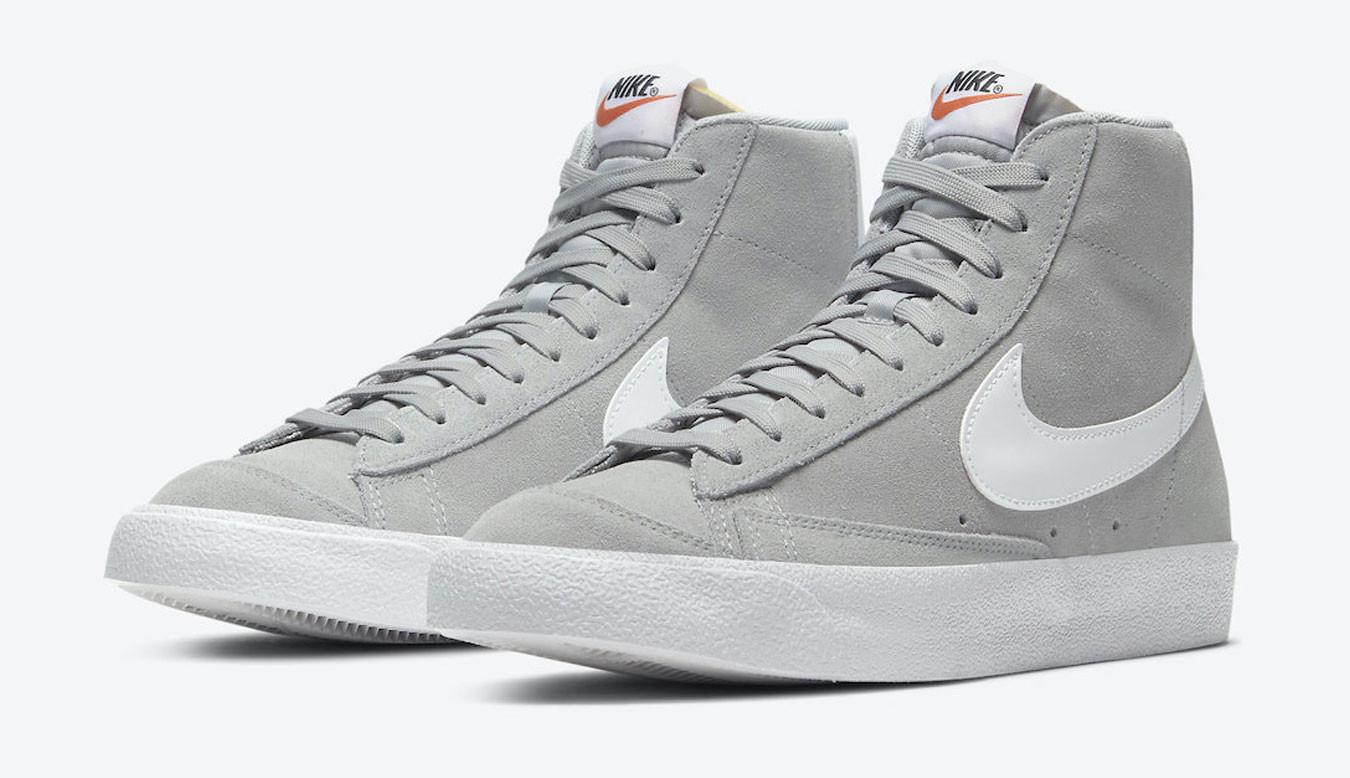 Nike Blazer Mid '77 Light Smoke Grey