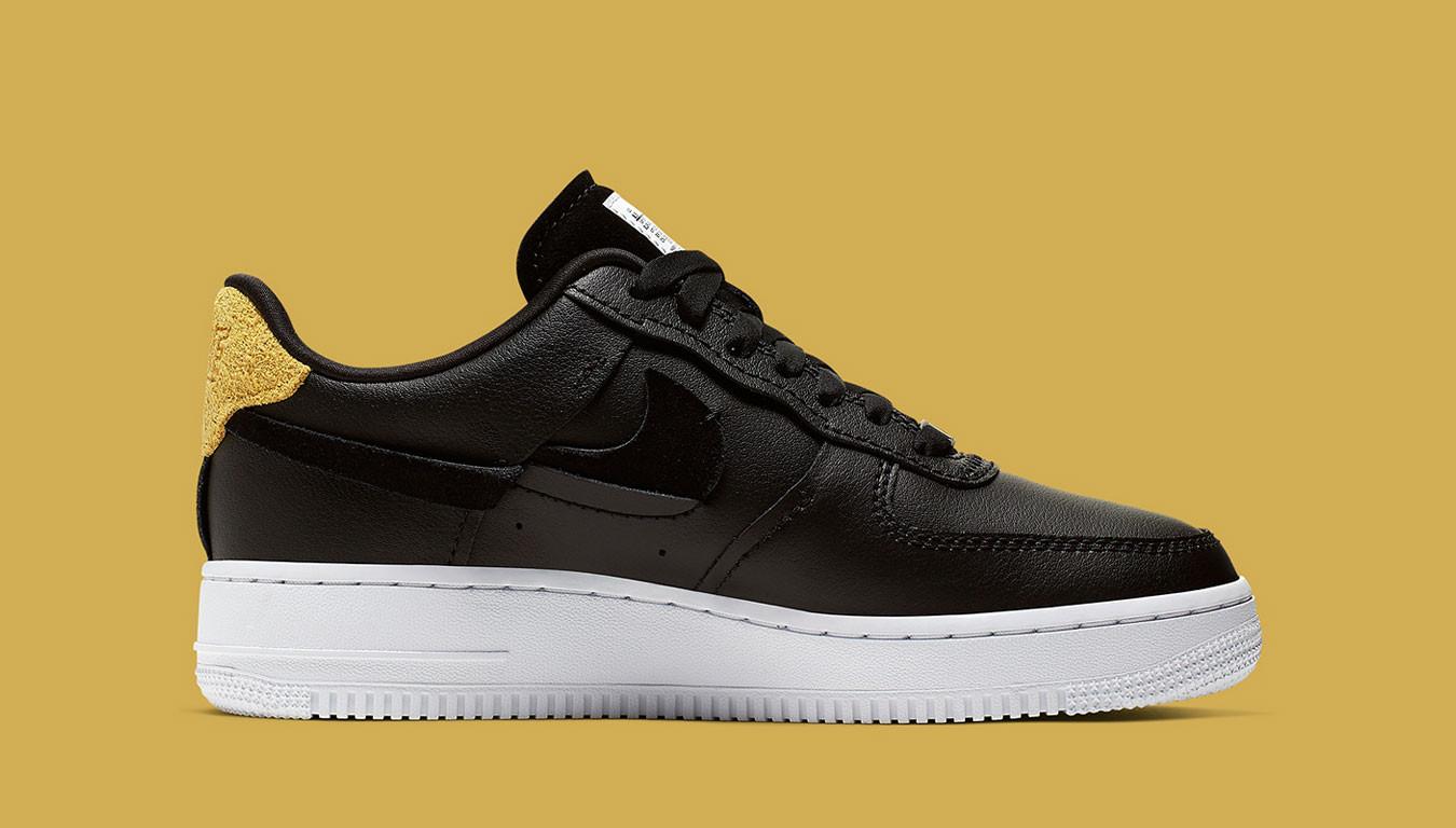 Nike's Air Force 1 '07 Vandalized Series in Black | HYPEBAE