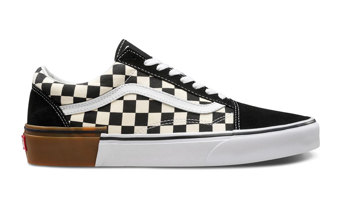 Vans Old Skool Gum Block Checkerboard