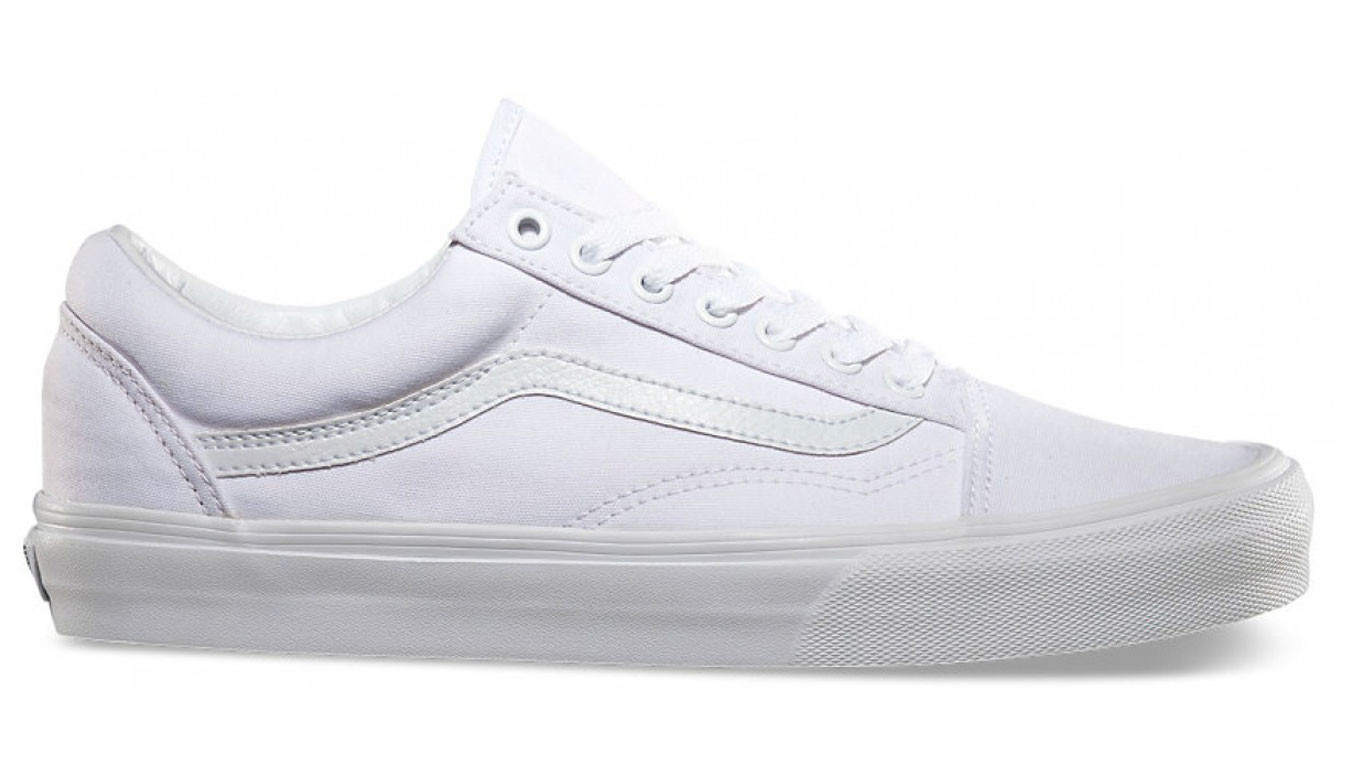 Blanc sneakers Vans Old Skool True White 70</p>                     </div> 		  <!--bof Product URL --> 										<!--eof Product URL --> 					<!--bof Quantity Discounts table --> 											<!--eof Quantity Discounts table --> 				</div> 				                       			</dd> 						<dt class=