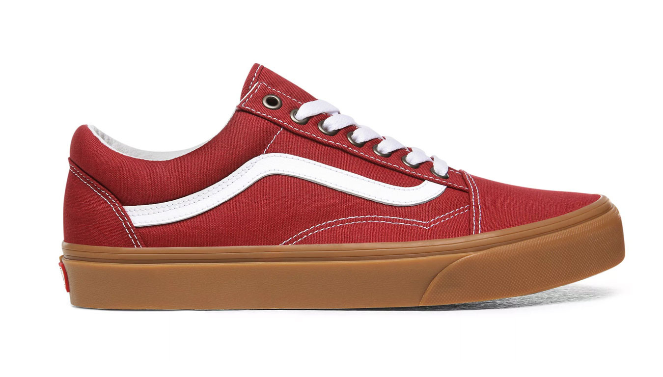Rouge sneakers Vans Ua Old Skool (Gum) RosewoodTrue White