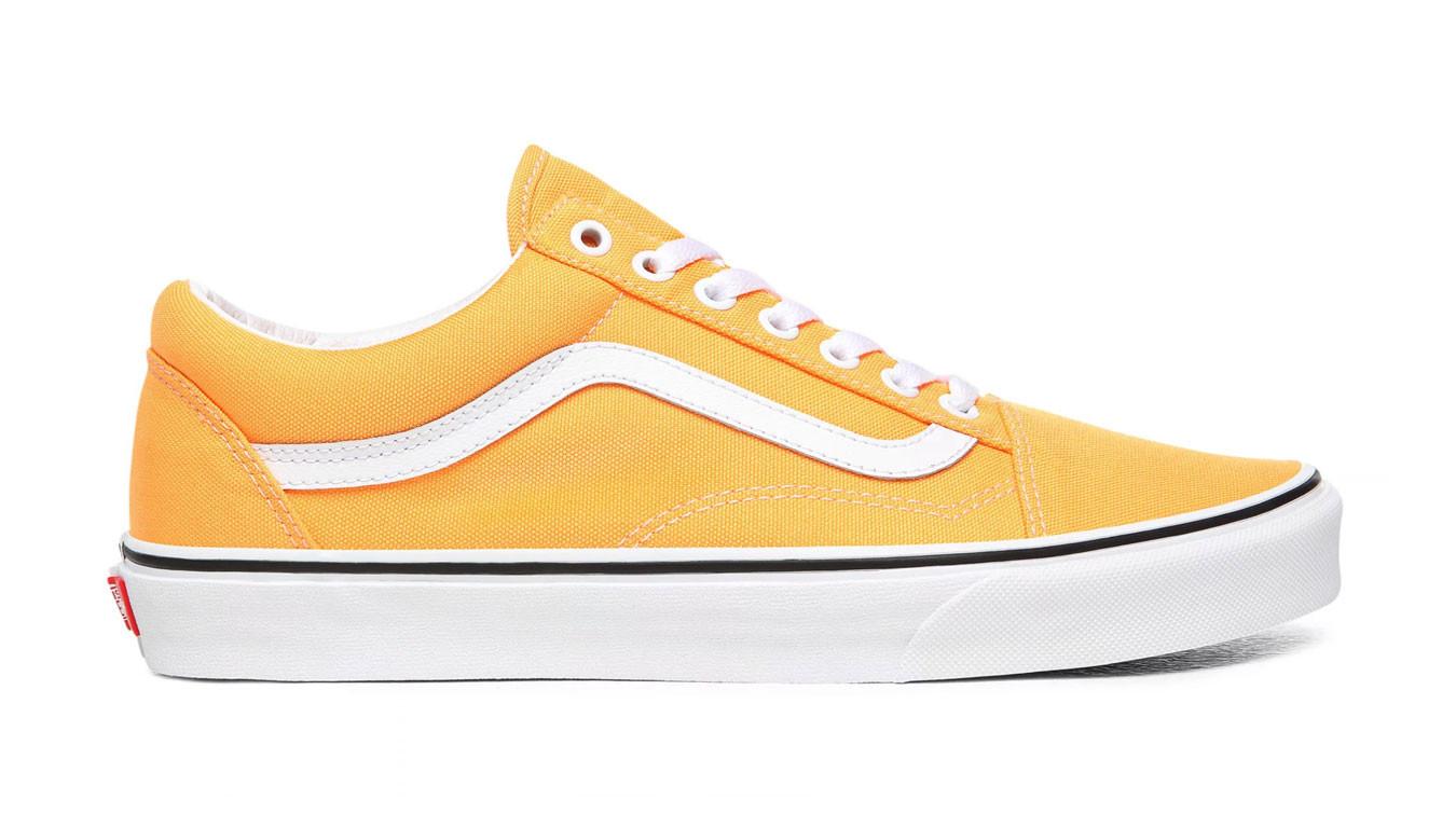 vans old school jaune