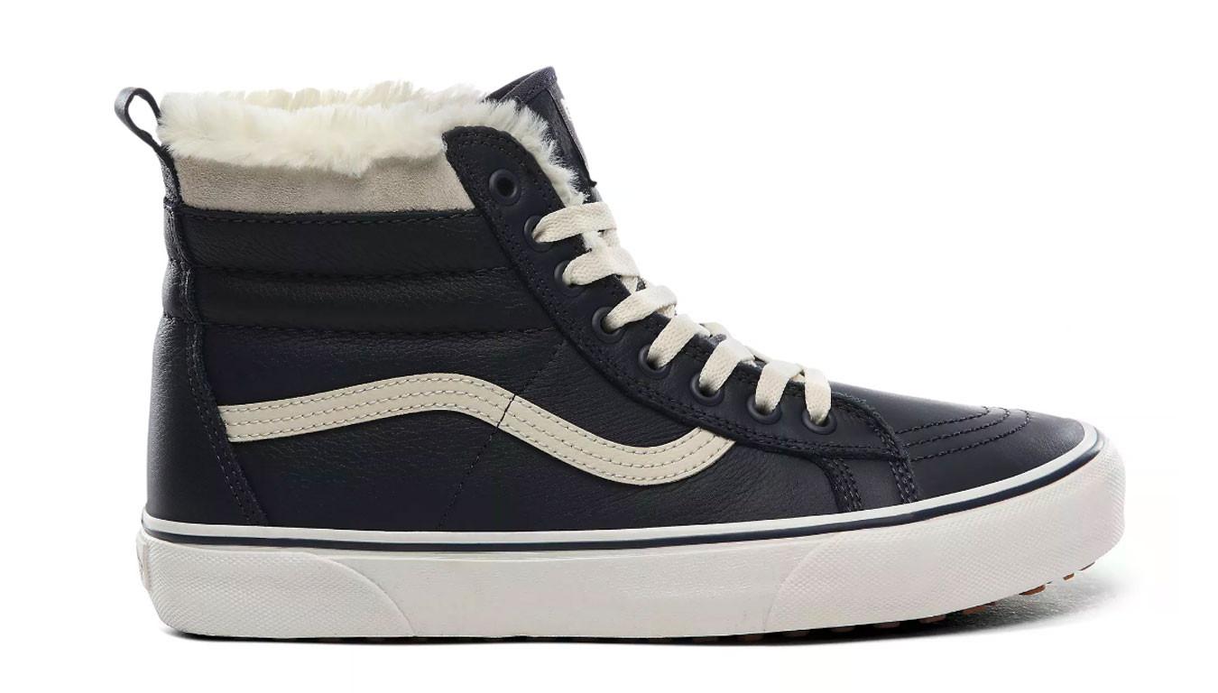Noir sneakers Vans Ua Sk8 Hi Mte (Mte)LeatherParisiannght